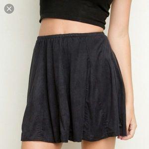 Brandy Melville Black Sanny Skirt